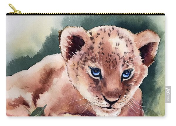 Kijani The Lion Cub Carry-all Pouch