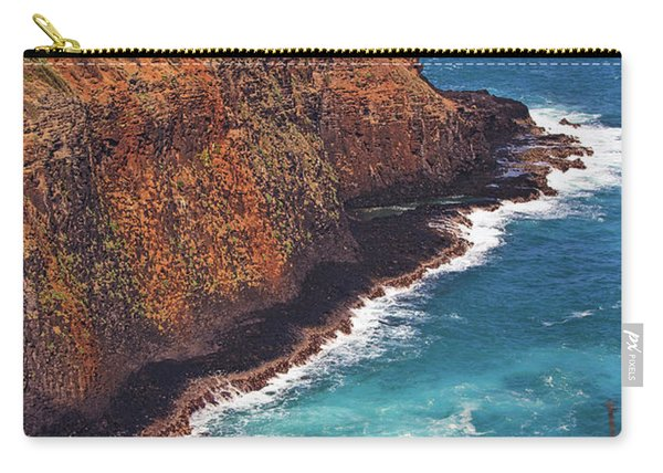 Carry-all Pouch featuring the photograph Kilauea Lighthouse On The Island Of Kauai, Hawaii, United States Of America          by Sam Antonio Photography
