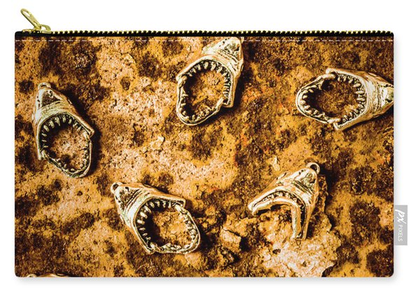 Killer Shark Jaws  Carry-all Pouch