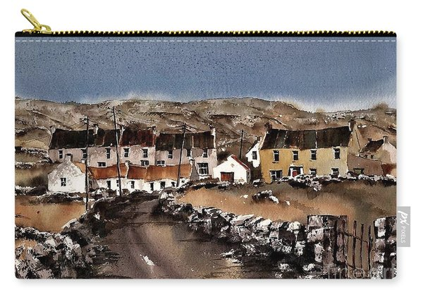 Kilmurvey Inishmore Aran Carry-all Pouch