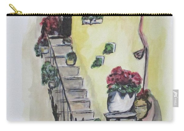 Kimberly's Castellabate Flowers Carry-all Pouch