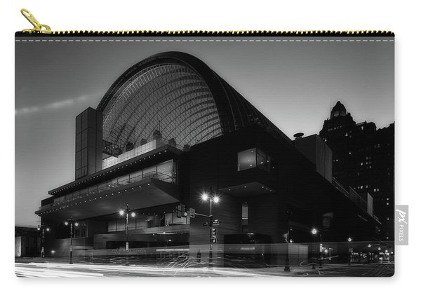 Kimmel Center Concert Hall At Dusk Carry-all Pouch