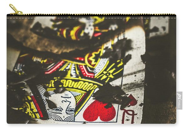 King And Queen Of Broken Hearts Carry-all Pouch