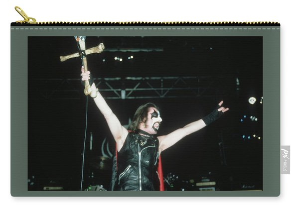 King Diamond Of Mercyful Fate Carry-all Pouch