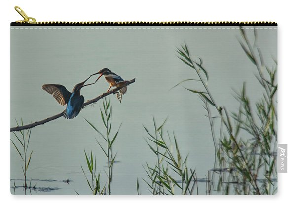 King Fishers  Carry-all Pouch