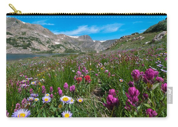 King Lake Summer Landscape Carry-all Pouch