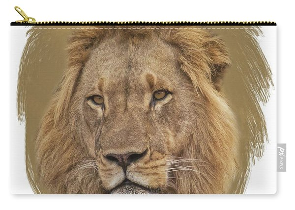 King Of Beasts 6 Carry-all Pouch