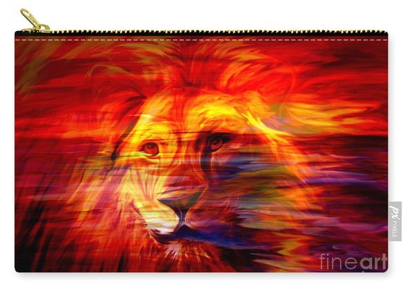 King Of Glory Carry-all Pouch