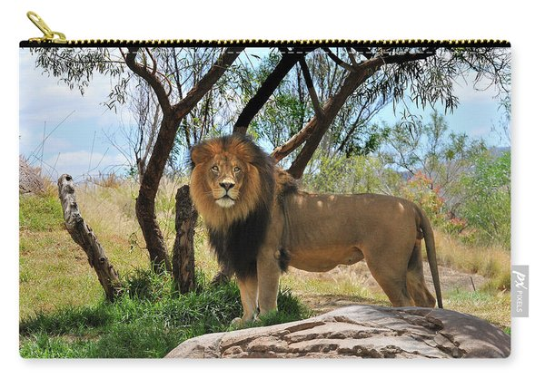 King Of His Domain Carry-all Pouch