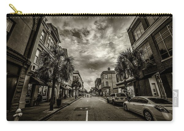 King St. Storm Clouds Charleston Sc Carry-all Pouch