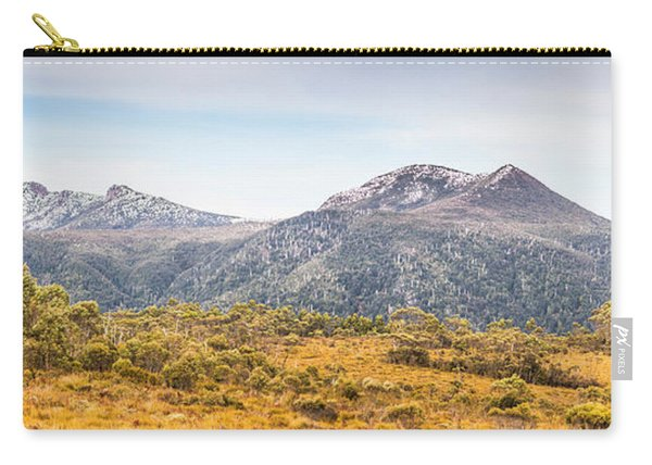 King William Range. Australia Mountain Panorama Carry-all Pouch