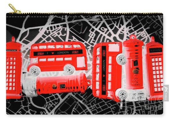 Kingdom Of United Touring Charms  Carry-all Pouch
