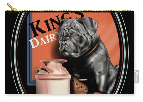 King's Dairy  Carry-all Pouch