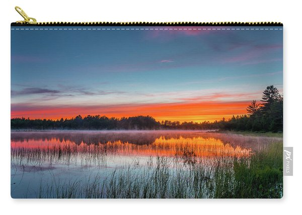 Kingston Lake Sunset Carry-all Pouch