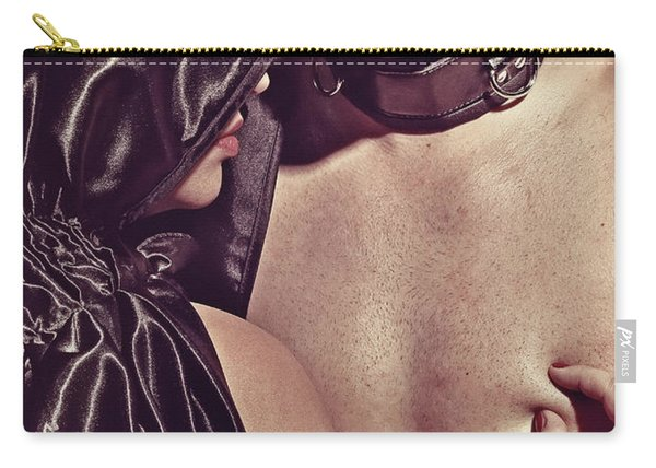 Kinky Play Man And Woman Carry-all Pouch