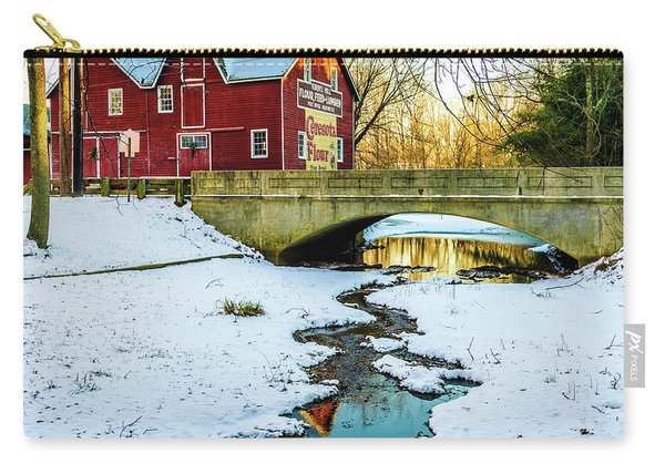 Kirby's Mill Landscape - Creek Carry-all Pouch