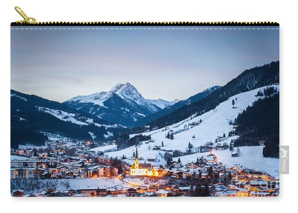 Kirchberg Austria In The Evening Carry-all Pouch