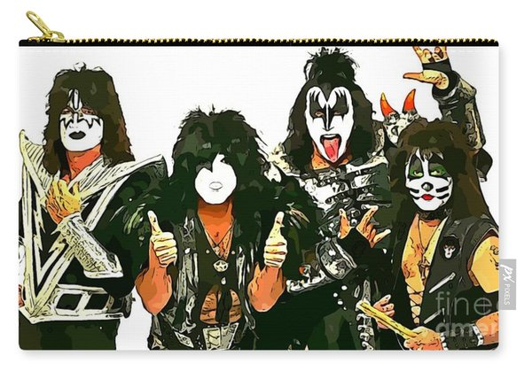 Kiss Abstract Poster Carry-all Pouch