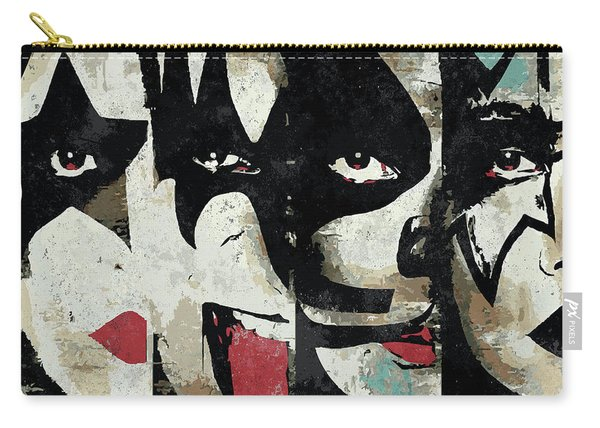 Kiss Art Print Carry-all Pouch