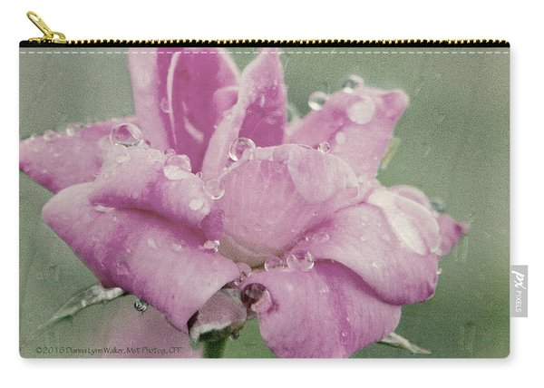 Kissed By The Rain Carry-all Pouch