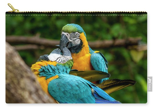 Kissing Parots Carry-all Pouch