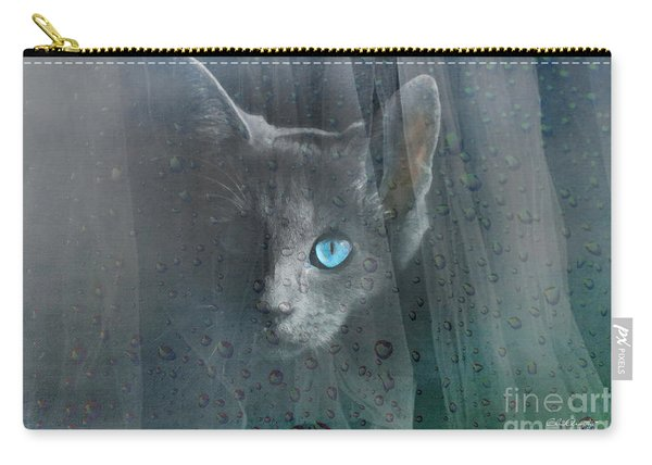 Kitty At The Window Carry-all Pouch