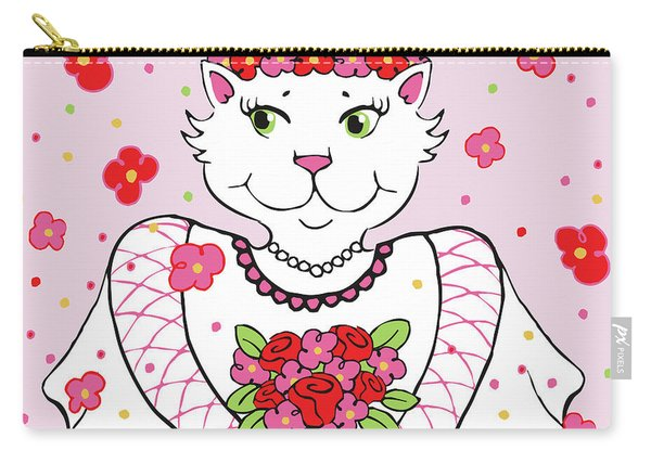 Kitty Bride Carry-all Pouch