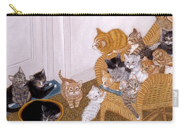 Kitty Litter II Carry-all Pouch
