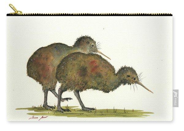 Kiwi Birds Carry-all Pouch