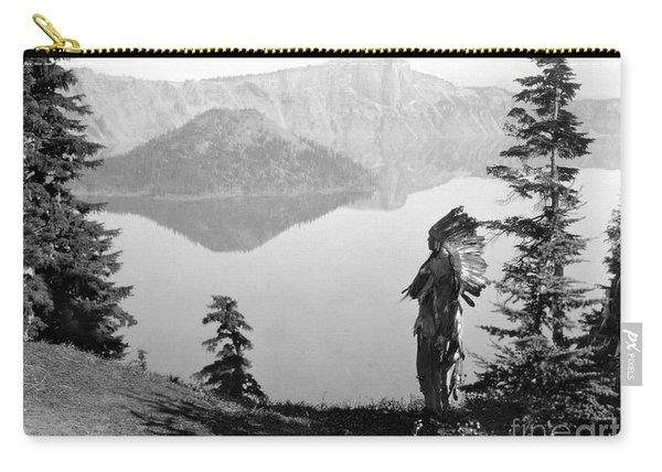 Klamath Chief, C1923 Carry-all Pouch