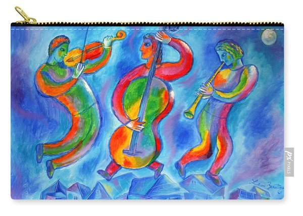 Klezmer On The Roof Carry-all Pouch