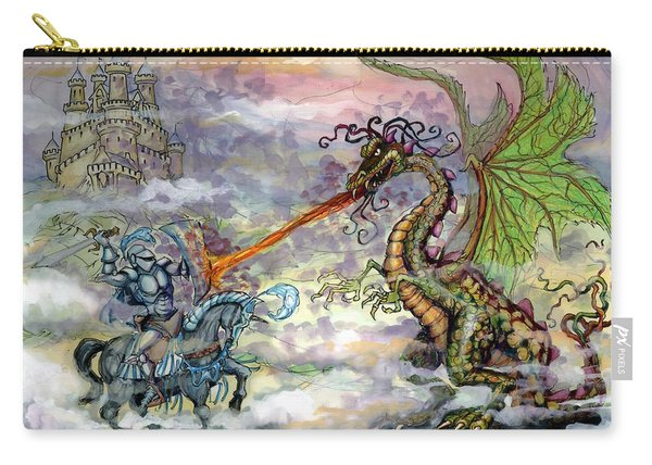Knights N Dragons Carry-all Pouch