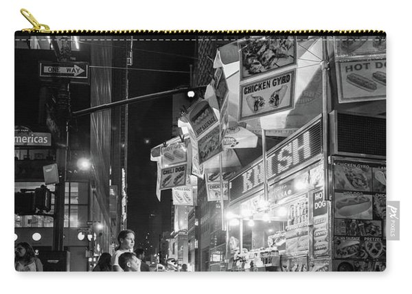 Knish, New York City  -17831-17832-bw Carry-all Pouch