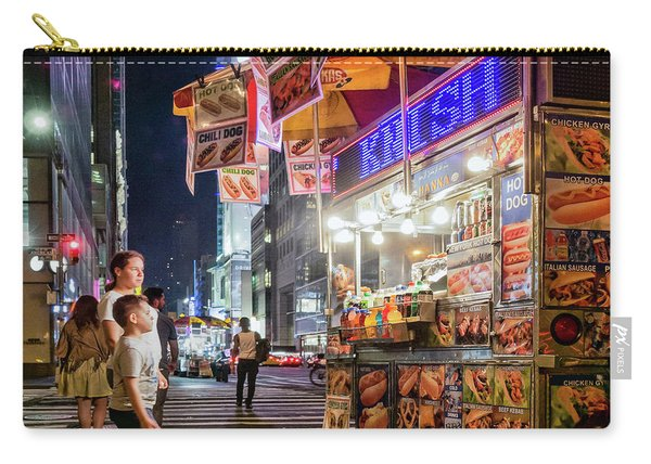 Knish, New York City  -17831-17832-sq Carry-all Pouch