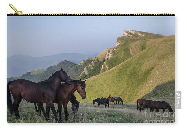 Kobilini Steni Peak Horses-1 Carry-all Pouch