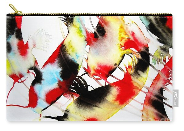 Koi Dance Carry-all Pouch