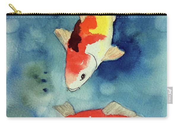 Koi Fish 3  Carry-all Pouch