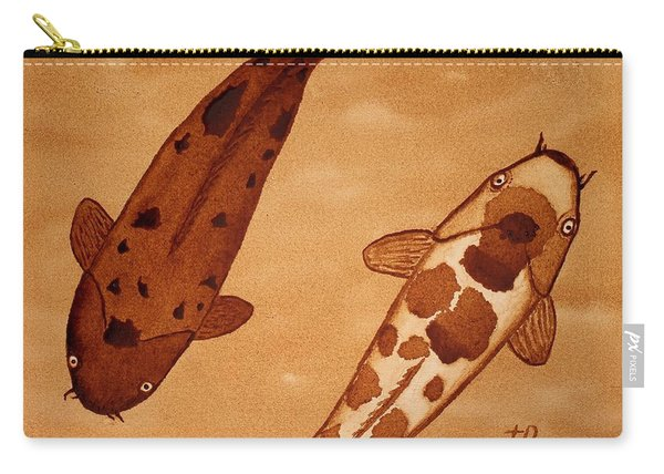 Koi Fish Feng Shui Carry-all Pouch