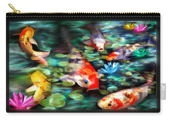 Koi Paradise Carry-all Pouch