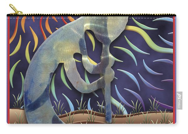Kokopelli Spring Carry-all Pouch