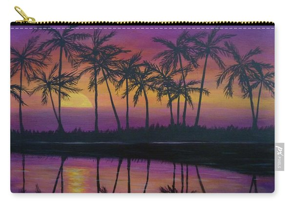 Kristine's Sunset Carry-all Pouch