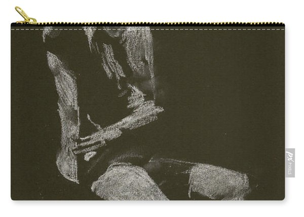 Kroki 2014 10 04_12 Figure Drawing White Chalk Carry-all Pouch
