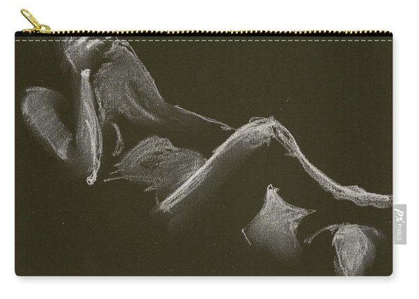 Kroki 2014 12 27_3 Figure Drawing White Chalk Carry-all Pouch