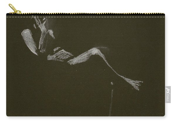 Kroki 2015 01 10_5 Figure Drawing White Chalk Carry-all Pouch