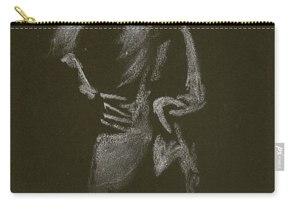 Kroki 2015 01 10_7 Figure Drawing White Chalk Carry-all Pouch
