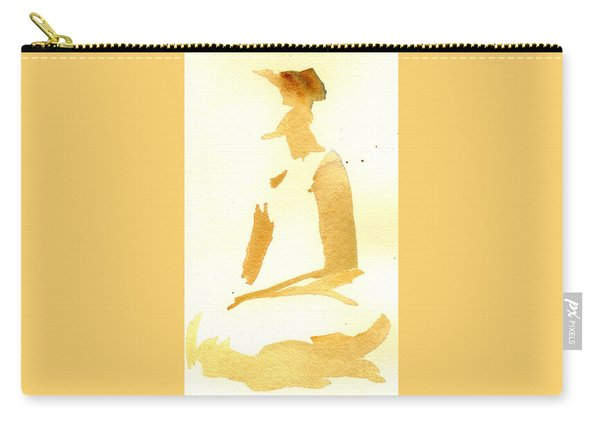 Kroki 2015 03 28_29 Maalarhelg 3 Akvarell Watercolor Figure Drawing Carry-all Pouch