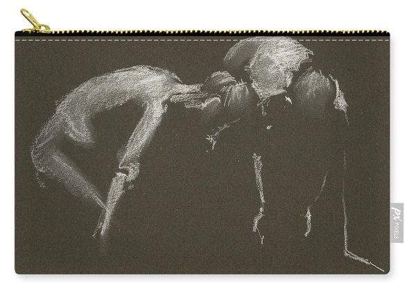 Kroki 2015 04 25 _1 Figure Drawing White Chalk Carry-all Pouch