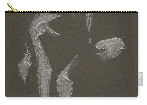 Kroki 2015 10 03_10 Figure Drawing White Chalk Carry-all Pouch