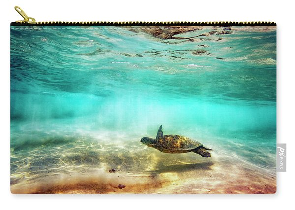 Kua Bay Honu Carry-all Pouch