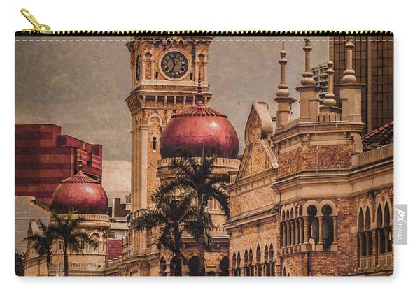 Kuala Lumpur, Malaysia - Red Onion Domes Carry-all Pouch